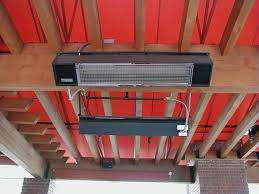 Freestanding Infrared Patio Heaters by Sunpak S34 B Tsr Wall Ceiling Mounted Two Stage Infrared Heater