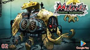 mutants genetic gladiators apk jeux play 02 mutants genetic gladiators épisode 1