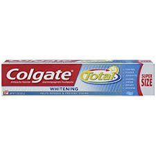 toothpaste whitening amazon com colgate total whitening gel toothpaste 7 8 ounce 6