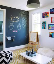smart home interior design blue decor simple