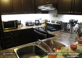 Kitchen Light Under Cabinets How To Install Under Cabinet Led Strip Lighting Flexfire Leds Blog