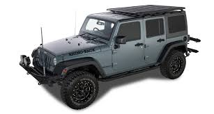 jeep wrangler unlimited sport rhino jeep wrangler jk 02 11 on rhino rack pioneer platform backbone