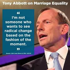 Gay Marriage Meme - julia holman on twitter tony abbott tells john laws that gay