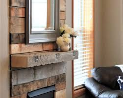 15 diy reclaimed wood and pallet fireplace surrounds