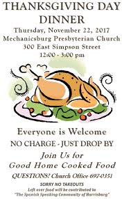 everyone is welcome at mpc s community thanksgiving meal