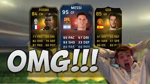 fifa 15 amazon black friday record breaker messi fifa 15 pack opening for if pogba de gea