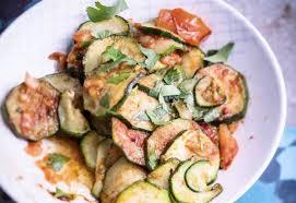 la recette de cuisine com courgettes à la charmoula des épices pour une entrée 7detable com