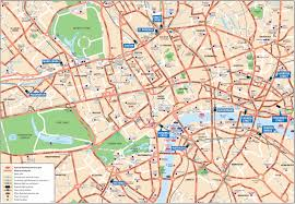Travel Maps Download Travel Map Of London Major Tourist Attractions Maps