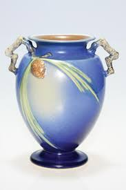 Roseville Pinecone Vase Humler U0026 Nolan Prices Realized