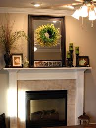 how to decorate a fireplace mantle christmas decor for fireplace