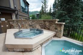 the jacuzzi at the vail mountain lodge and spa oyster com