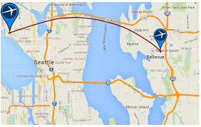 seattle map test expedia pushes back target date for seattle move until 2019 will