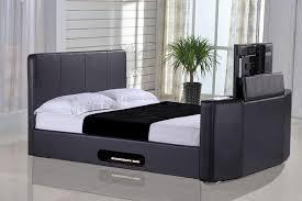 Kingsize Tv Bed Frame Casino 5ft Kingsize Tv Bed Black Leaders Creative Tv Beds