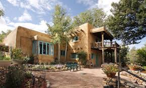 Style Of Home Adobe I Love Pueblo Style Homes In The Southwest This One Is In Santa
