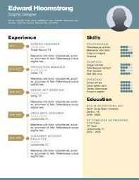 Artistic Resume Template Career Diagram Free Resume Template By Hloom Com Branding
