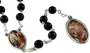 rosary of the seven sorrows black seven sorrows rosary chaplet