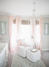 Pink Nursery Curtains Light Pink Curtains For Nursery And Best 25 Nursery Window