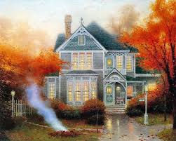 home interiors thomas kinkade prints pix for u003e thomas kinkade autumn thomas kinkade pinterest