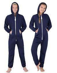 navy blue footless hoodie one hooded footless pajamas