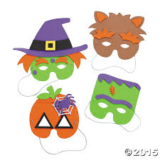 mask craft kits for kids this halloween