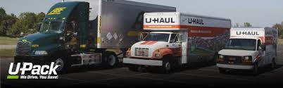 Uhaul Estimated Cost by U Pack Vs U Haul U Pack