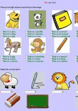 english exercises demonstratives