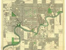 Edmonton Canada Map The Edmonscona Plan Edmonton City As Museum Project Ecamp