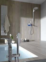 wall mounted shower head round thermostatic waterfall mood