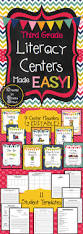 third grade literacy centers made easy literacy third and
