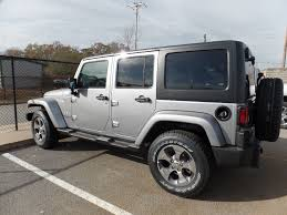 jeep billet silver metallic 2017 new jeep wrangler unlimited sahara 4x4 at landers serving