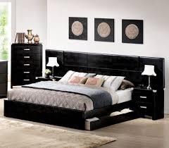 bedroom furniture cheap classic brown oak wood king size bed