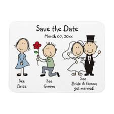 wedding magnets save the date refrigerator magnets zazzle