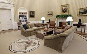 oval office decor obama s new look oval office proves there s no disputing taste