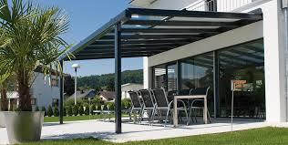 Glass Pergola Roof by Glass Roof System Stobag Sonnen Und Wetterschutz