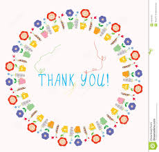 thank you greeting card stock photos image 36345433