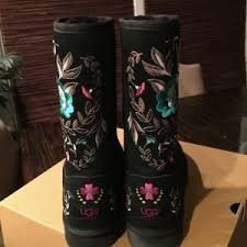 womens ugg juliette boot 35 ugg boots ugg juliette black from shan s closet on poshmark