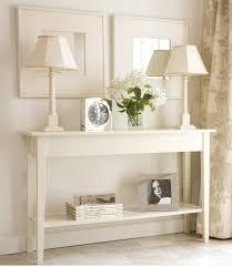 Simple White Desk Long Thin Wooden Desk Best Home Furniture Decoration