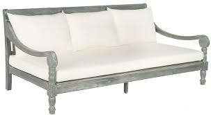 Wooden Outdoor Daybed Furniture by Pat6724c Daybeds Outdoor Home Furnishings Furniture By Safavieh