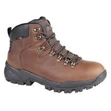 Johnscliffe Mens Canyon Leather Hiking Shoes Boy Hillwalking Trail