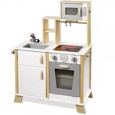 cuisine enfant howa cuisine enfant en bois avec table de cuisson led naturelle