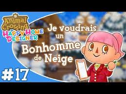 Ep17 Animal Crossing Happy Home Designer Je Voudrais Un Bonhomme