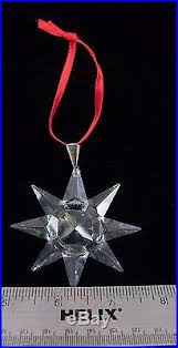 Swarovski Annual Christmas Ornaments First Year by Edition Star Christmas Ornament