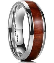 Mens Titanium Wedding Rings by Jstyle Titanium Engagement Rings For Men Vintage Wedding Band 8mm