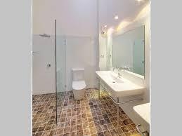 Travertine Bathroom Designs Bathroom Frameless Glass High Ceilings Tile Floor Travertine