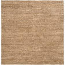 hand woven natural lionfish natural fiber jute rug 8 square l14134273 jpg