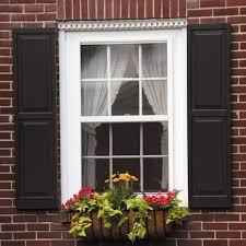 exterior wood shutters home depot plantation shutters window