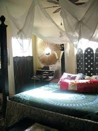 Boho Bed Canopy Boho Bedroom Canopy Inspired Bedroom With Crispy White Curtains