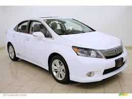 2010 lexus hs250h warranty 2010 aurora white pearl lexus hs 250h hybrid premium 45282018