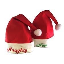 santa hats embroidered santa hat set felt kovot
