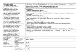 teacher feedback dirt grids by wmenglishquiz teaching resources